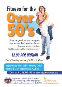 Fitness for the Over 50's