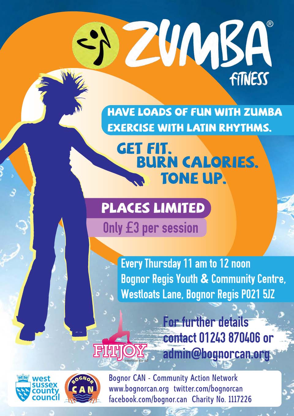 Zumba fitness bognor community action network zumba fitness stopboris Image collections