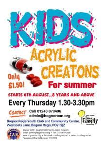 Kids acrylic creations 1000